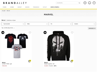 Brandalley : Marvel