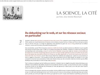 La Science, la Cité