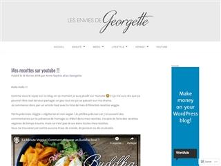 Les Envies de Georgette : Mes Recettes sur Youtube