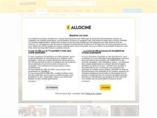 Allociné : Séries TV