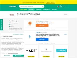 Ma-reduc.com : Vente-Unique.com