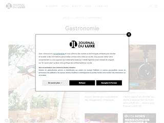 Journal du Luxe : Gastronomie du Luxe