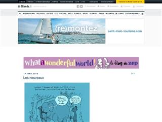 What a Wonderful World - Le Blog de Zep