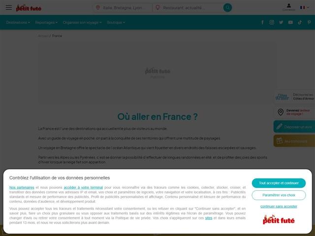 Petit Futé : Tourisme en France