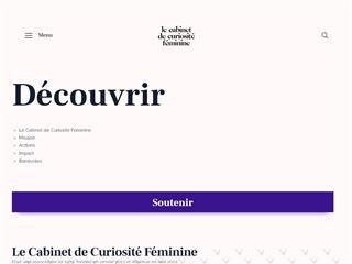 Cabinets de Curiosités Féminines