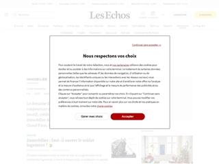 Les Echos : Immobilier
