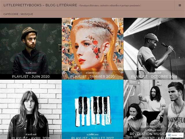My Pretty Books : Musique