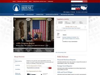 House of Representatives - Congrès américain