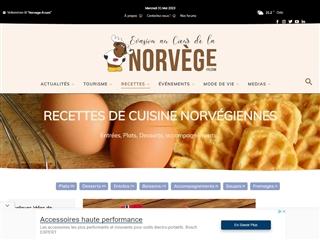 NORVEGE.FR : recettes scandinaves