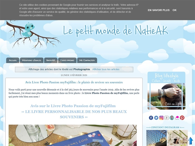 Le Petit Monde de NatieAK : Photographie