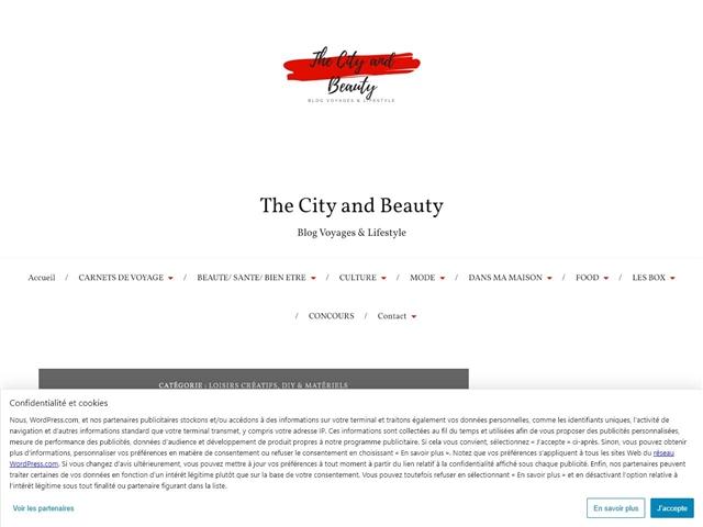 The City and Beauty : Loisirs créatifs