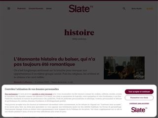 Slate : Histoire