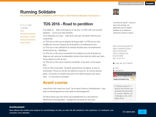 Running solidaire