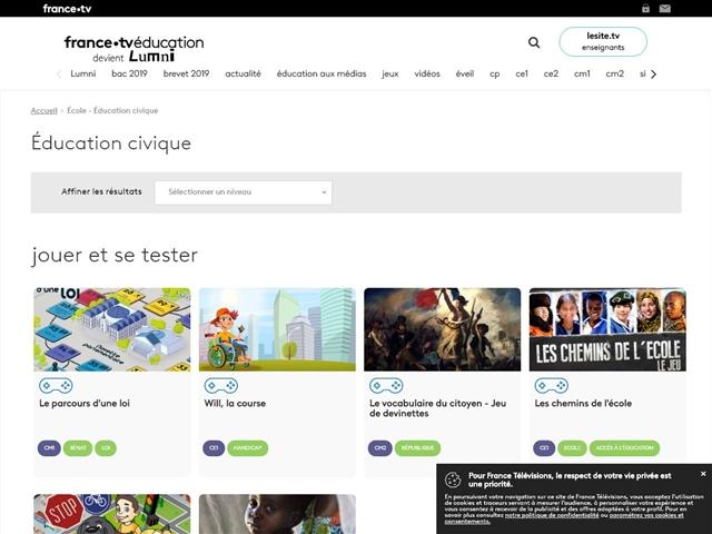 France 5 : Education Civique