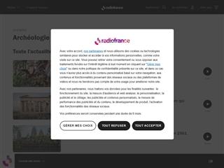 France Inter : Archéologie