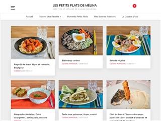 Les petits plats de Mélina