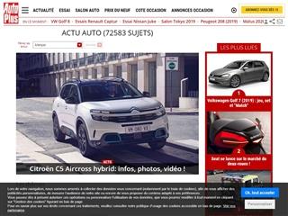 Auto Plus : news