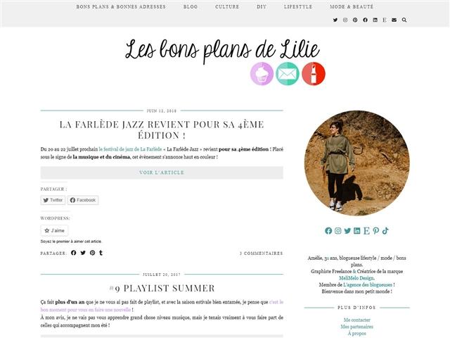 Les Bons Plans de Lilie : Musique