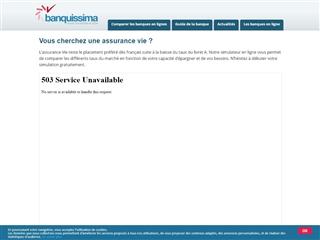 Banquissima : Assurance vie