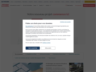 Le Figaro : Immobilier