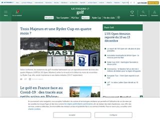 Le Figaro : Golf