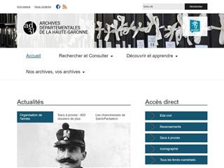 Haute-Garonne (31) - Archives départementales