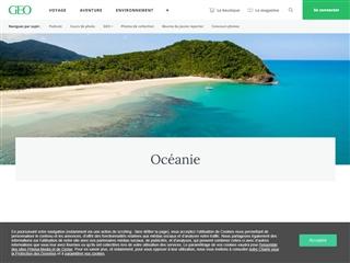 GEO : les guides de voyages en Océanie