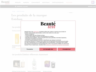 Beauté-Test : Esteban