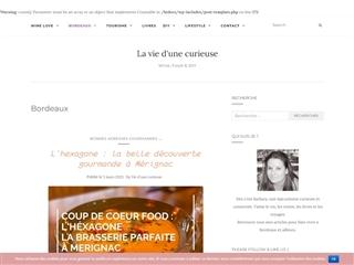 La Vie d'une Curieuse : Bordeaux