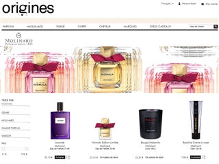 Origines Parfums : Molinard