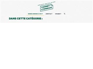 Carnet Lyonnais : Bonnes Adresses à Lyon