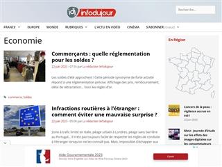 IDJ - Info du Jour : Economie