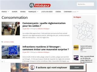 IDJ - Info du jour : Consommation