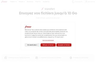 Envoi de fichiers avec Free