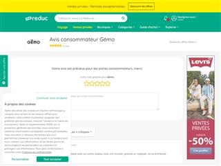 Ma-reduc.com : Gémo