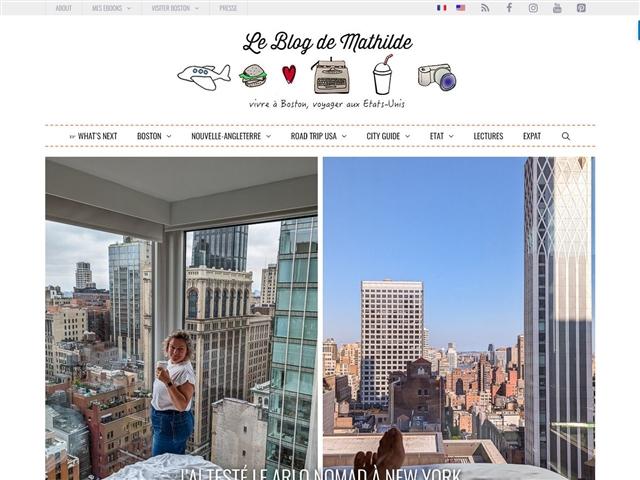 Le blog de Mathilde : vie et voyages aux USA