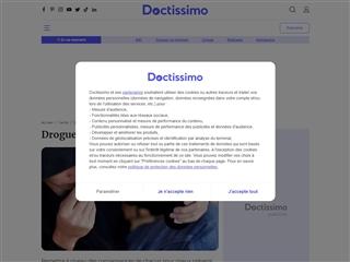 Doctissimo : Drogues et dépendances