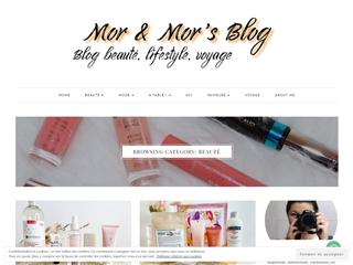 Mor & Mor's Blog : Beauté