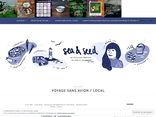 Sea & Seed : Blog du Voyage sans Avion et Local