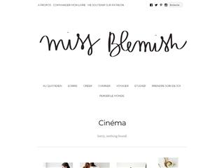 Miss Blemish : Cinéma