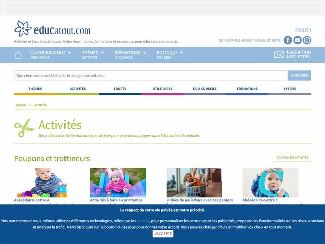 Educatout : Activités