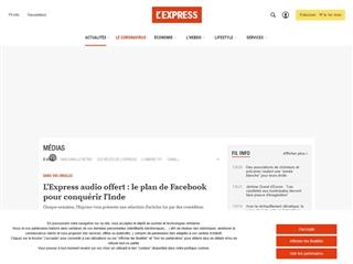 L'Express : Médias