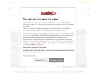 Avantages Magazine : Mode