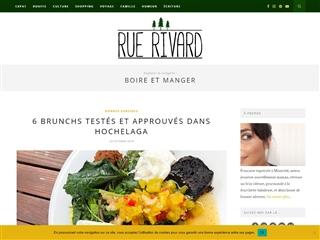 Rue Rivard : Boire & Manger