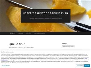 Le petit carnet de Daphné Xuan