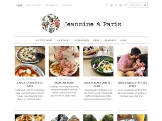 Jeannine à Paris