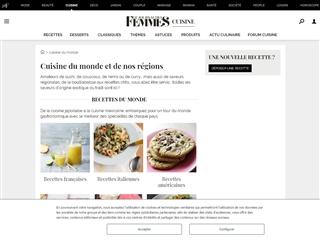 Journal des femmes : cuisine du monde