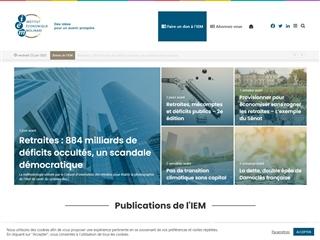 Institut Economique Molinari (IEM)