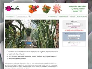 Kuentz - Le Monde des Cactus