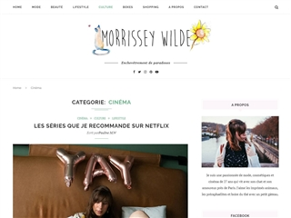 Le Blog de Morissey Wilde : Cinéma